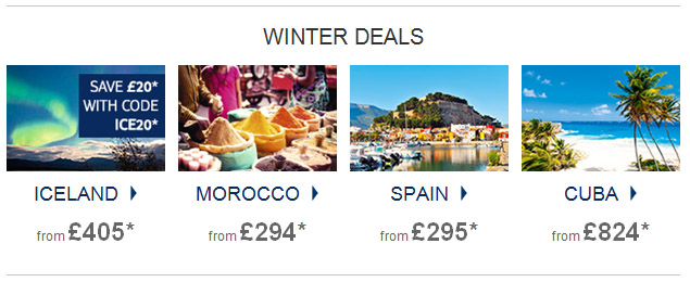 Winter Sun Holidays 2017 2018 Late Deals